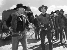 Red River - (1948)  John Wayne and Montgomery Clift