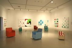 Mary Heilmann at the Orange County Museum of Art, 2008