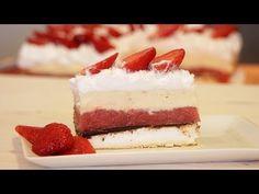 Kapri torta od jagoda - YouTube