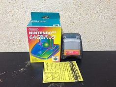 Nintendo 64GB Pak Japan NTSC-J boxed set Transfer Pak