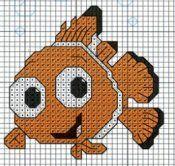 finding nemo cross stitch pattern