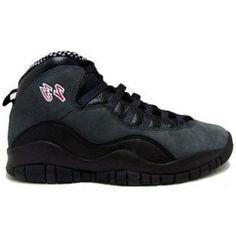 7075246e1e2 http   www.anike4u.com  Air Jordan Retro 10 Black Dark