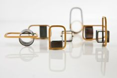 """Erato Kouloubi presents """"The origin of symmetry""""  Gold, platinum, bronze and silver - will be at JOYA 2013"""