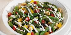Fresh Asparagus Salad