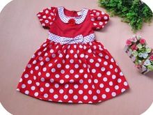 New 2015 Red Baby Girl Summer Dress Fantasy Child Christmas Costumes for Kids Party Clothes Children Clothing 5pcs/lot Wholesale(China (Mainland))