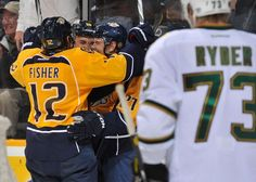 mike fisher, brandon yip, & patric hornqvist.