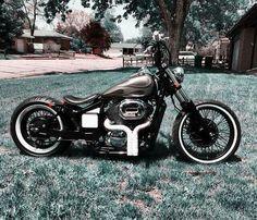 Bobber Motorcycle, Bobber Chopper, Moto Bike, Custom Bobber, Custom Choppers, Custom Bikes, Harley Davidson Custom Bike, Harley Davidson Motorcycles, Honda Shadow Bobber