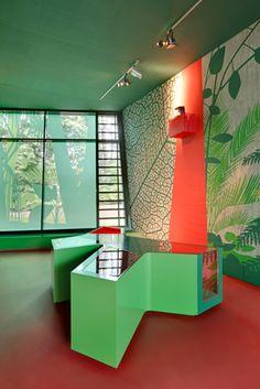Visitor Center Grube Messel by Holzer Kobler Architekturen, photo by Jan Bitter