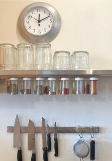 magnetic spice rack
