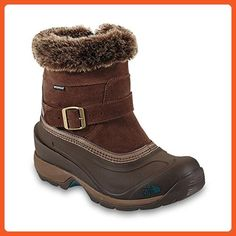 b13eb9e2d15 boots: The North Face Chilkat III Pull-On Winter Boot Women's Rain Drum  Brown/Mediterranea Green 7