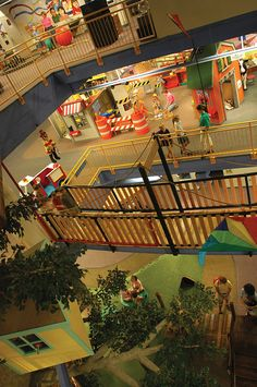 Lincoln Children's Museum. One of the best children's museums in the country. Three floors of hands-on fun for kids and adults. Kids explore aviation, simulate moon landings, play as bankers, bakers, musicians, actors. Hours of exploration and adventure in an amazing facility.