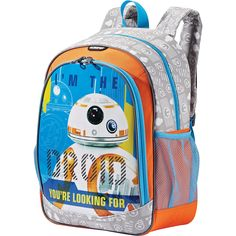 American Tourister Star Wars Backpack - eBags.com Orange Backpacks f7caf59aab336