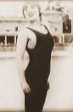 """On September 23, 1912, movie history was made in several different ways. When Mack Sennett's first groundbreaking Keystone comedy, """"The Water Nymph"""" was released, Mabel Normand became the first actress to appear on-screen wearing a bathing suit."""