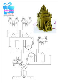 Thiệp 3d tháp Po Nagar 2