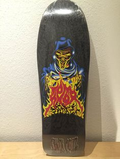 Santa Cruz, Tom Knox, Firepit reissue, Jim Phillips graphics