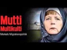 Refuee Crisis- 'Muslim Merkel' Image on German TV image Draws irr