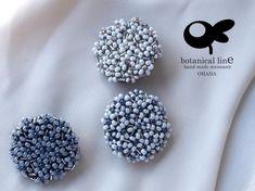 Bead Embroidery Tutorial, Bead Embroidery Jewelry, Beaded Jewelry Patterns, Beaded Embroidery, Bead Jewellery, Seed Bead Jewelry, Brooches Handmade, Handmade Jewelry, Fabric Ornaments