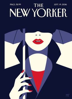 Malika Favre  - tiphaine-illustration. The New Yorker cover illustration.