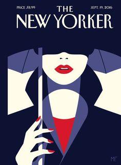 Malika Favre - tiphaine-illustration. The New Yorker cover illustration.