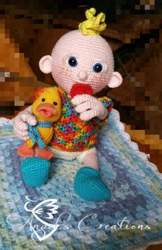 Baby by AngelsCCrochet on Etsy