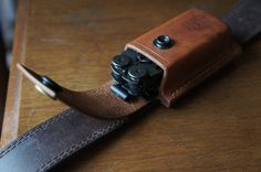 Custom Leatherman Sheath and Redwing Back Saver