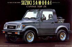 スズキ サムライ(輸出仕様)/ SUZUKI SAMURAI CANVASTOP JX