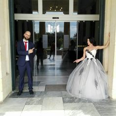 Black and white wedding  #blackwhitewedding #weddingbouquets #corfu #photo