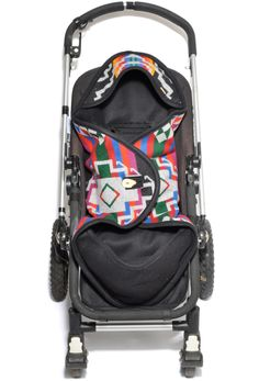 i could totally make a stroller papoose.