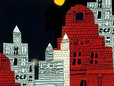 City Architecture at Night lesson plan