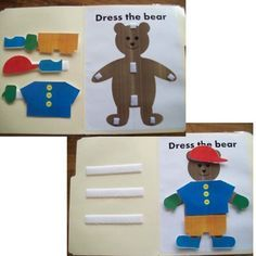 the Bear File Folder Game Great file folder game for your Pre-K and Preschool classrooms.Great file folder game for your Pre-K and Preschool classrooms. Autism Classroom, Preschool Classroom, Preschool Learning, Educational Activities, Classroom Activities, Learning Activities, Preschool Activities, Preschool Printables, Preschool Education