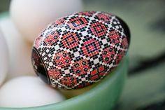 Mata Ortiz Inspired Egg Pysanky Easter Egg Batik by SheCanLaugh, $60.00