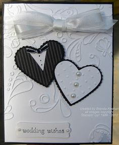 More wedding cards! * Pinned from Keenan Kreations blog