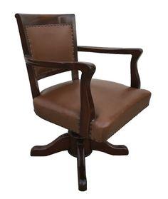 Antiga Cadeira Giratoria Inglesa Em Madeira E Couro  sc 1 st  Pinterest & 55+ Cow Print Office Chair - Best Home Office Furniture Check more ...