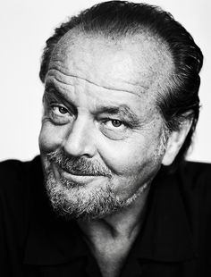 Jack Nicholson (1937) - American actor, film director, producer, writer. Photo by Brigitte Lacombe