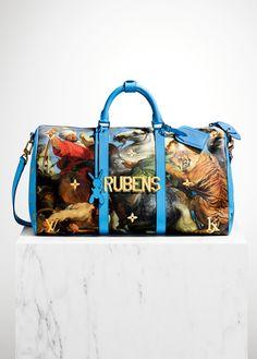 Louis Vuitton выпускает коллекцию с Джеффом Кунсом