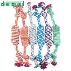 2017 2017 New Fashion Rope Dog toy Puppy Dog Pet Toy Cotton Braided Bone Rope Chew Knot Funny Tool juguete para perros Cute Dog Toys, Dog Chew Toys, Cat Dog, Pet Puppy, Toy Puppies, Dogs And Puppies, Toy Dogs, Chihuahua Dogs, Food Dog