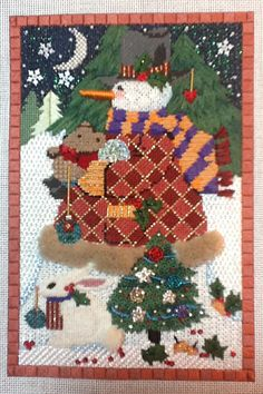It's not your Grandmother's Needlepoint: Stitcherie Games 2014