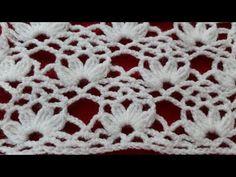 Crochet Stitches Patterns, Crochet Motif, Knitting Stitches, Crochet Baby, Baby Girl Dress Patterns, Crochet Videos, Quilt Pattern, Sewing Hacks, Crochet Projects