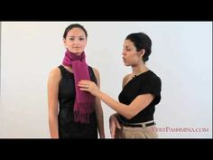10 ways to ties a scarf from verypashmina.com    http://www.verypashmina.com/scarf-style/how-to-tie-a-scarf/