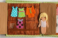 Quiet busy dollhouse book with felt doll for pretend play, TomToy handmade, развивающая книжка, кукольный домик Baby Quiet Book, Quiet Books, Car Activities, Felt Books, Fabric Toys, Diy Sewing Projects, Book Quilt, Busy Book, Cute Illustration
