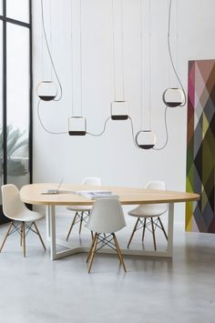 Design Heure Pendant Light  #lighting #design #modern #oak #designheure #pendant