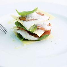Seeteufel-Lasagne mit Süsskartoffeln