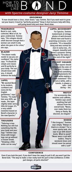 Here'S how to pul off a suave, sophisticated james bond suit mais Thème James Bond, Estilo James Bond, James Bond Party, James Bond Style, James Bond Theme, James Bond Movies, James Bond Quotes, Sean Connery James Bond, Daniel Craig James Bond