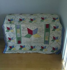 Quilt-dated-1942-Order-of-Eastern-Star-hand-quilted