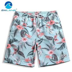Devoted Gailang Brand Men Beach Board Shorts Boardshorts Mens Short Bottoms Summer Swimwear Swimsuits Quick Drying Shorts Casual New Men's Clothing
