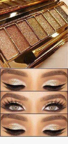 36 Christmas Eye Makeups #eyemakeuptips Makeup Hacks, Makeup Goals, Makeup Tips, Beauty Makeup, Makeup Ideas, Makeup Products, Makeup Tutorials, Makeup Brands, Beauty Products