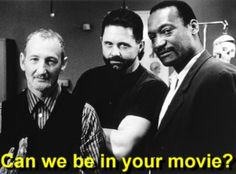 I think I should be asking you guys that ...  Three of the greatest modern horror actors. Robert Englund (Freddy Kruger), Kane Hodder (Jason Voorhees), and Tony Todd (Candyman).