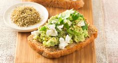 Give the classic avocado on toast a boost with zesty dukkah! Smashed Avocado, Avocado Toast, Dukkah Recipe, In The Flesh, Arugula, Asparagus, Feta, Vegetarian, Snacks
