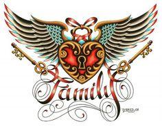Tyler Bredeweg Family Tattoo Gallery Canvas Art