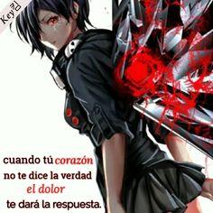 Cuando Tú corazón... frases anime